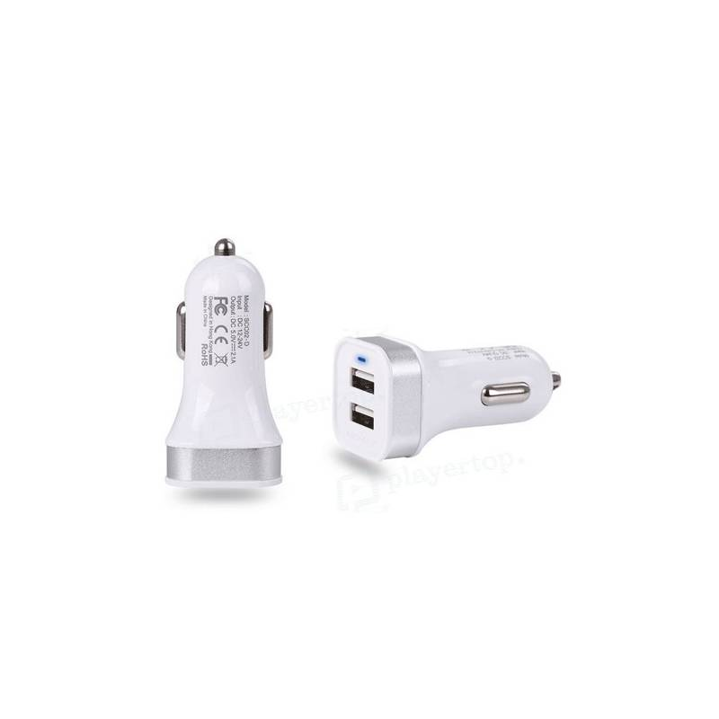 Chargeur double allume cigare
