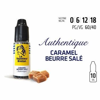 Caramel au Beurre Salé - E-liquide VAPOTEUR BRETON