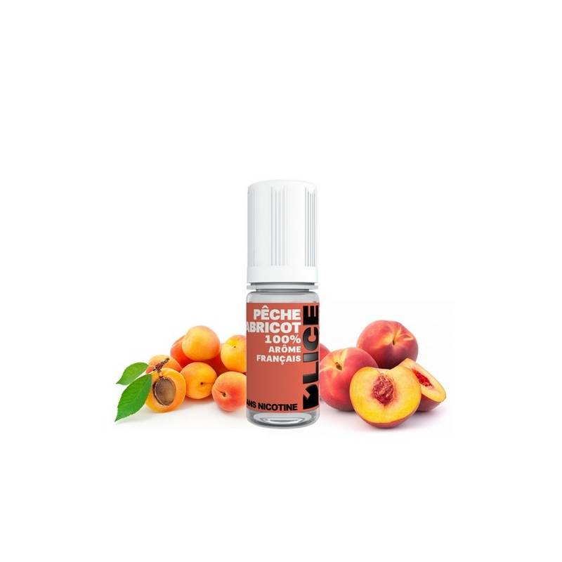 Pêche abricot - E-liquide D'lice