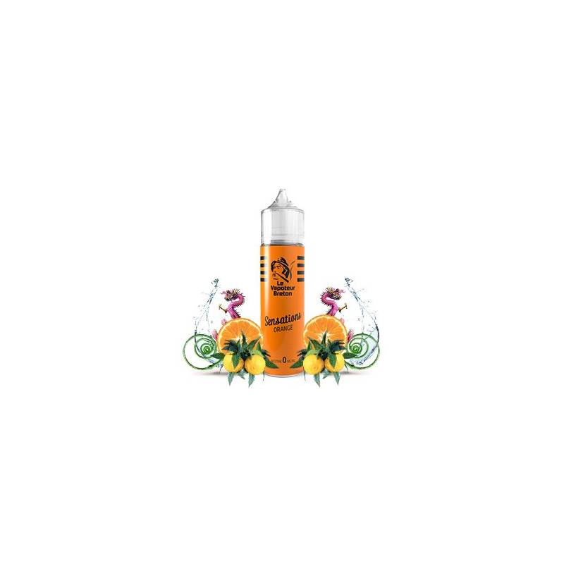 Orange - Vapoteur Breton Mix'n'Vape