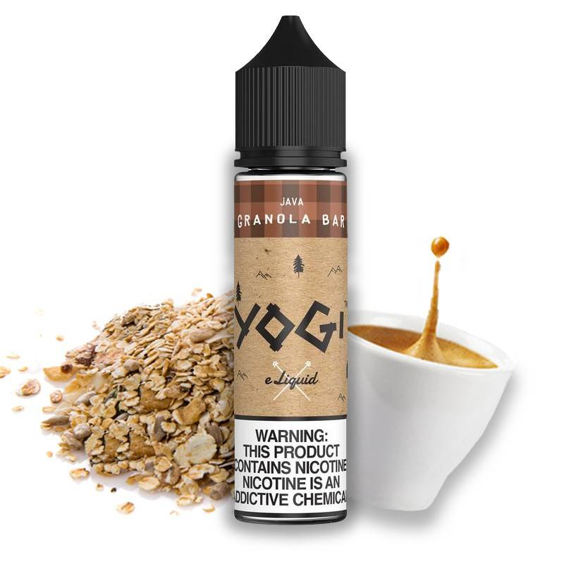 E-liquide Java Granola Bar 50ml - Yogi Juice