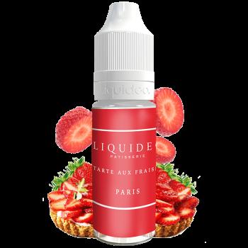 Tarte aux fraises - E-liquide Liquideo