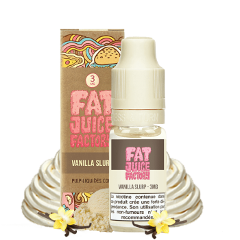 Vanilla Slurp - E-liquide Fat Juice Factory Pulp