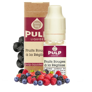 Fruits Rouges à la Réglisse - E-liquide PULP