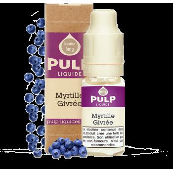 Myrtille Givrée - E-liquide PULP