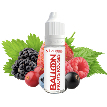 Balloon - Fruits rouges - 10 ml - Liquideo