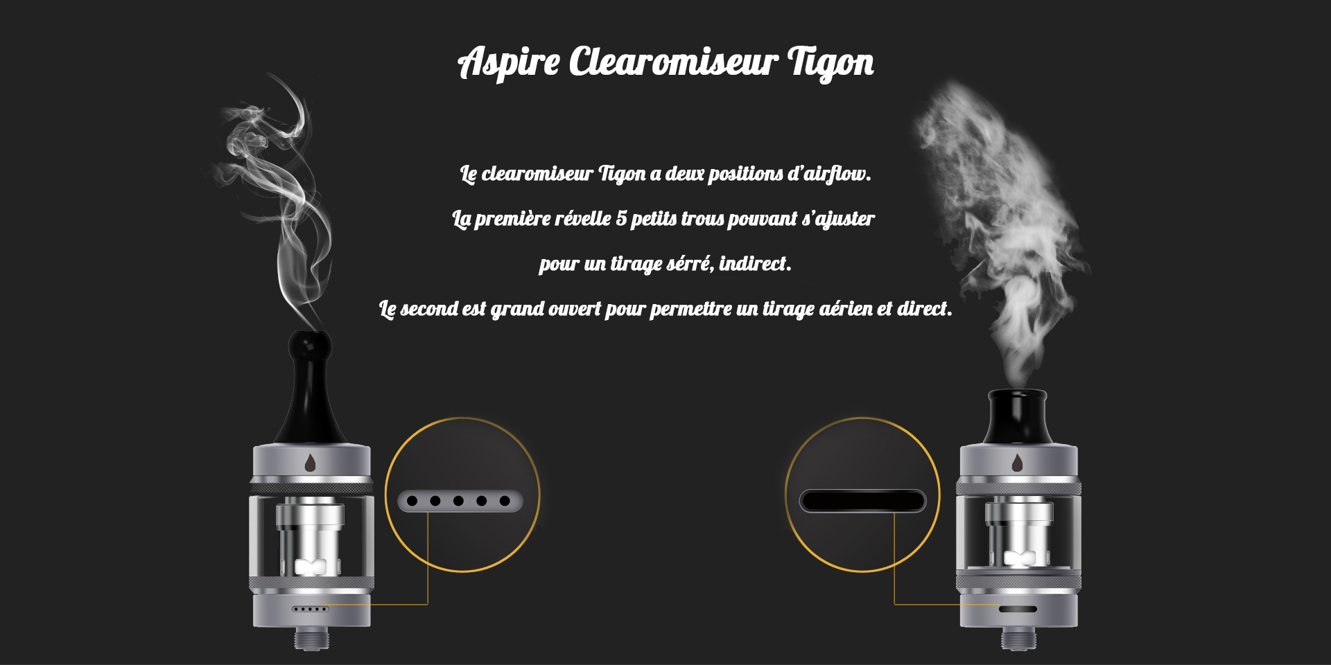 Aspire Tigon Clearomiseur