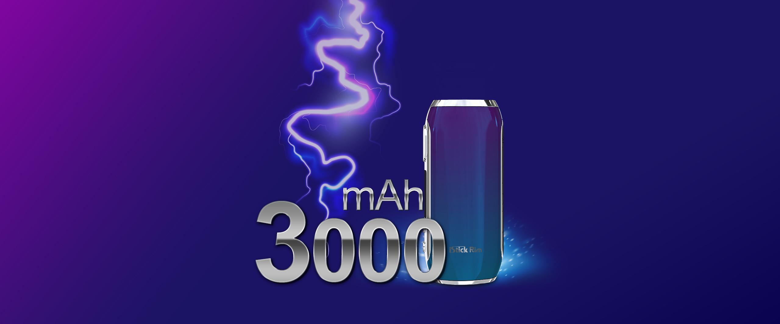 3000 mAh